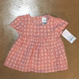 NWT Carter's size 6 months blouse